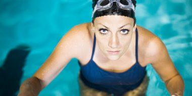 willis towers watson, woman in pool, health, fittness