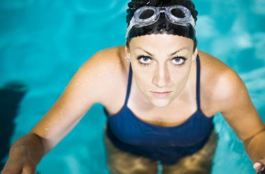 willis towers watson, woman in pool, health, fittness